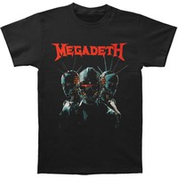 Megadeth Men's  Dystopia Mens Regular T T-shirt Black