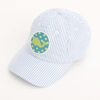 Seersucker Patch Baseball Hat