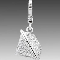 Juicy Couture Large Diamond Charm in Silver from REVOLVEclothing.com