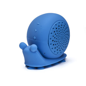 """Beyonce"" Blue Snail Shower Speaker"