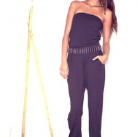 Allison Collection Fashion Week Knit Jumpsuit