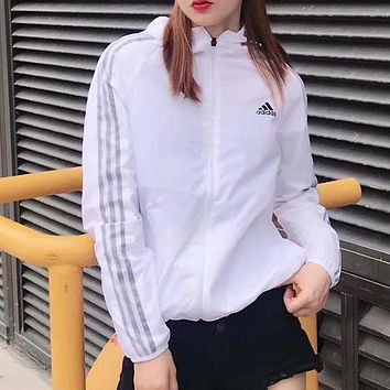 ADIDAS Woman Men Fashion Sport Cardigan Jacket Coat