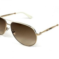 Jimmy Choo Jewly/s Gold Sunglasses