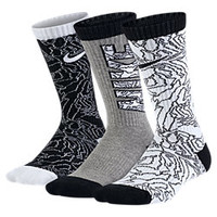 The Nike Graphic Cushioned Crew Kids' Socks (3 Pair).
