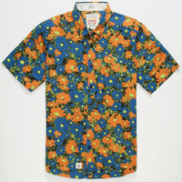 Volcom Ozzie Mens Shirt Blue  In Sizes
