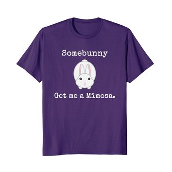 Easter Shirt for Women Easter Bunny Mimosa Brunch Funny Tshi