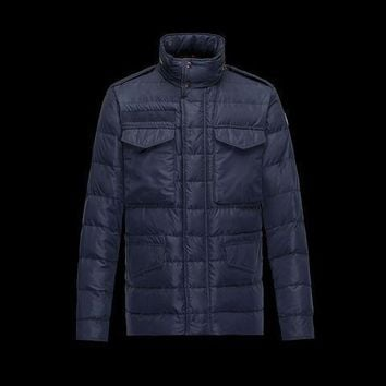 Moncler Men Wool Down Quilted Coat 1