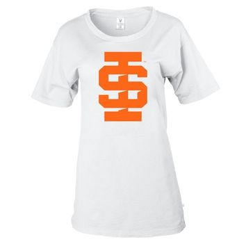 NCAA Idaho State Bengals PPIDS01 Women's Stretchy Boyfriend Tee