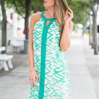 Grass Is Greener Dress, Green