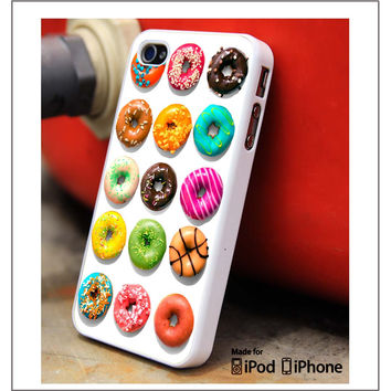 All Donut iPhone 4s iPhone 5 iPhone 5s iPhone 6 case, Galaxy S3 Galaxy S4 Galaxy S5 Note 3 Note 4 case, iPod 4 5 Case
