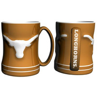 Texas Longhorns NCAA Coffee Mug - 15oz Sculpted (Single Mug)