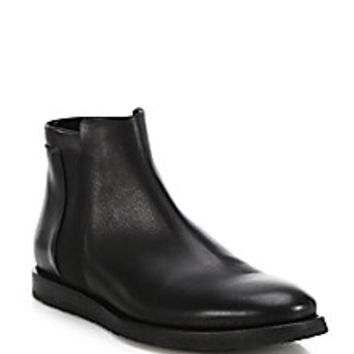 Vince - Hayes Leather Chelsea Boots - Saks Fifth Avenue Mobile