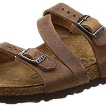 Birkenstock Women's Salina 3-Strap Cork Footbed Sandal-Narrow
