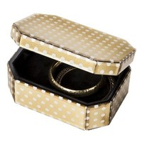 Threshold™ Jewelry Box - Gold Dot Small