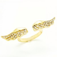 Rings : Open Wing Ring