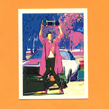 LLOYD DOBLER Card - Say ANYTHING - Say Anything Card - Lloyd Dobler - Funny Love Card - I Love You Card - Cute Love Card - John Cusack