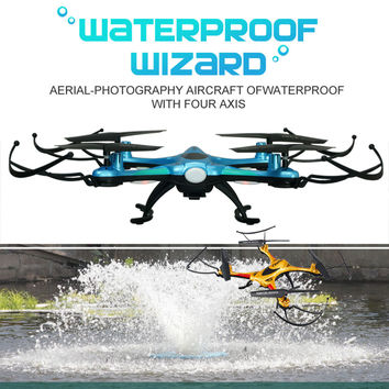 FZW F101 RC Drone Waterproof Resistance Quadcopter Helicopter No Camera or drone with HD Camera or Drones with wifi FPV camera