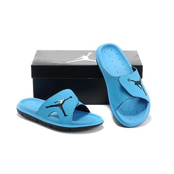 Nike Air Jordan Blue Casual Sandals Slipper Shoes Size Us 7 13 | Best Deal Online