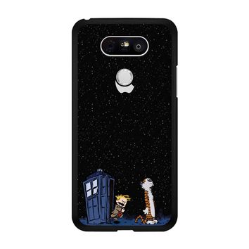 Calvin And Hobbes Apple Tardis LG G5 Case