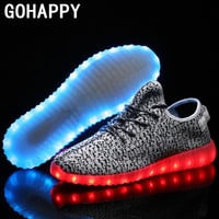 Led 7 color Light-up shoes