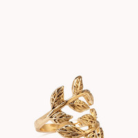 Down To Earth Leaf Ring