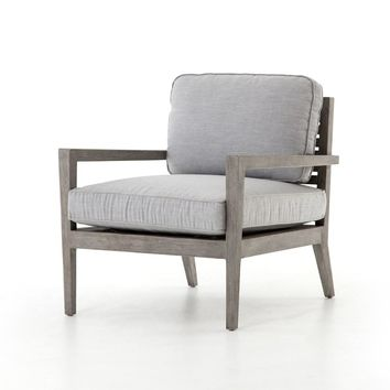 Laurent Outdoor Chair | Canvas Graphite