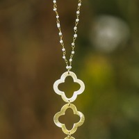 Three Hopeful Thoughts-Necklace