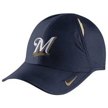 Nike Milwaukee Brewers Featherlight Dri-FIT Adjustable Cap - Adult, Size: One Size (Blue)