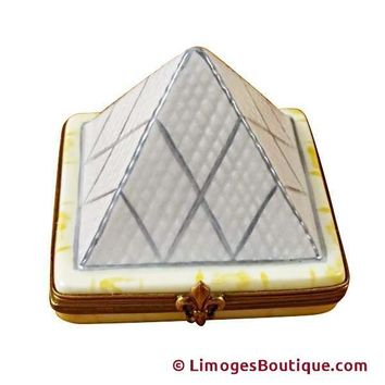 LOUVRE PYRAMID LIMOGES BOXES