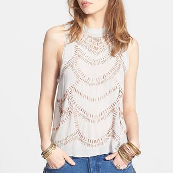 Women's Free People 'Ferris Wheel' Sleeveless Top,