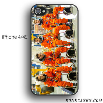 one direction nasa suit drag me down case for iPhone 4[S]