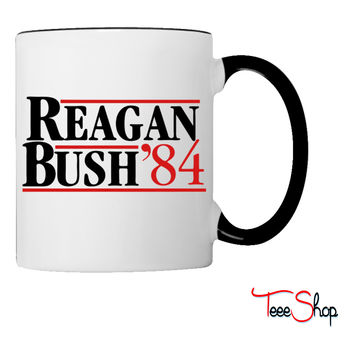 Reagan Bush '84 Coffee & Tea Mug