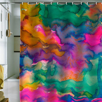 DENY Designs Home Accessories | Amy Sia Ardour Shower Curtain