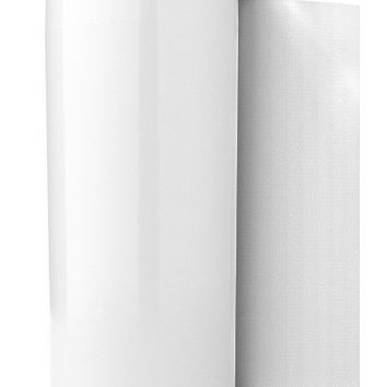 """Siliconezone Karim Collection 6.3"""" Silicone Paper Towel Holder, White"""