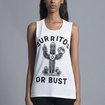 Burritos or Bust Muscle Tee