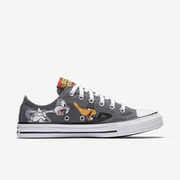The Converse Chuck Taylor All Star Bugs & Daffy Low Top Unisex Shoe.