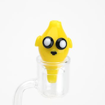 Empire Glassworks Jake The Dog Bubble Cap