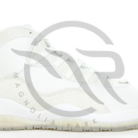 AIR JORDAN RETRO 10 - OVO (WHITE SAMPLE)