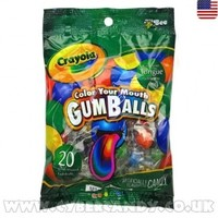 Crayola Color Your Mouth Gumballs 2.3oz