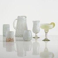 Marbled Carmen Glassware Collection