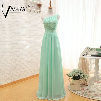 Vnaix B0175 Three Styles Mint Green Cheap Bridesmaid Dresses Vestido de la dama de honor