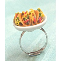 Tacos Plate Ring