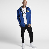 The Golden State Warriors Nike Therma Flex Showtime Men's NBA Hoodie.
