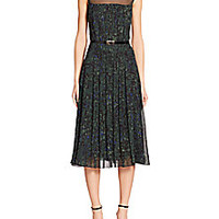 Jason Wu - Printed Illusion Dress - Saks Fifth Avenue Mobile