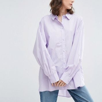 Weekday Oversize Shirt at asos.com
