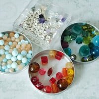 Crystal Glass and Gemstone Beads - Beading Supplies - Jewelry Supply