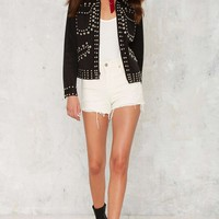 Vintage Rock the Universe Studded Jacket
