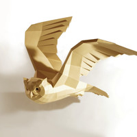 Eagle Owl Papercraft Kit