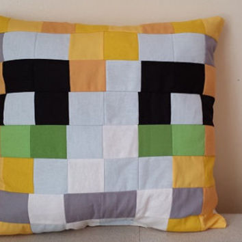 StampyCat Minecraft Pillow- 16x16