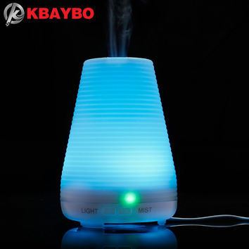 Essential Oil Diffuser Aromatherapy Oil Diffuser Ultrasonic Mist Air Humidifier with 7 Color Changing LED Aromatherapy Diffuser